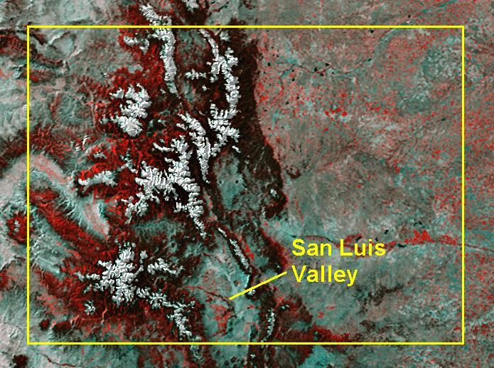 Dry Land Water San Luis Valley - San luis usa map