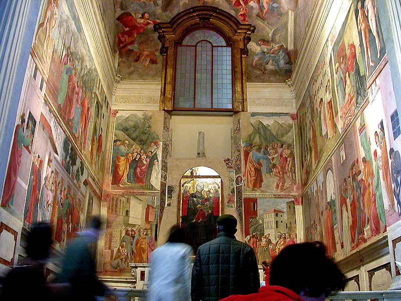 brancacci chapel in santa maria del