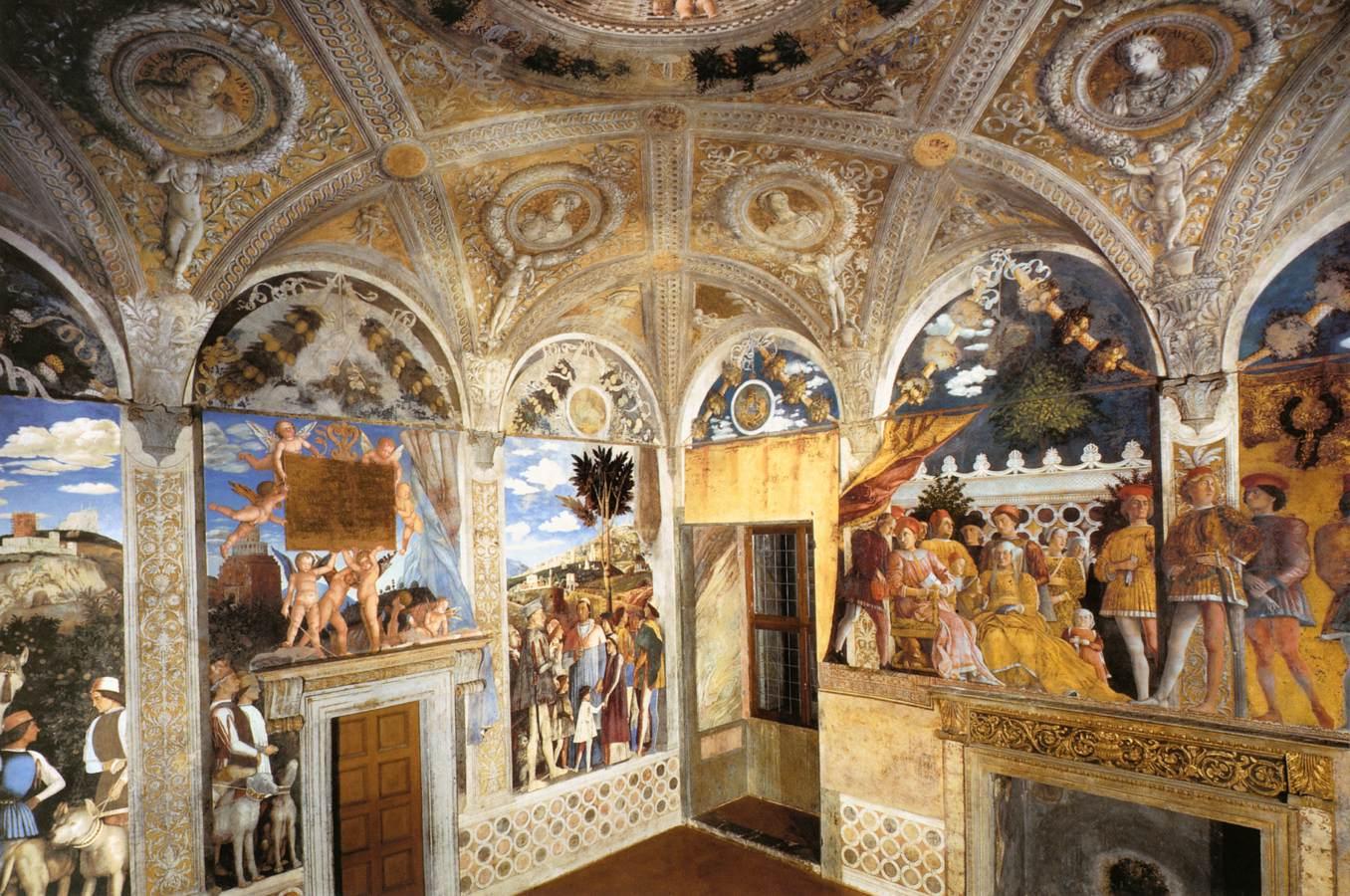 Mantegna for Camera degli sposi immagini