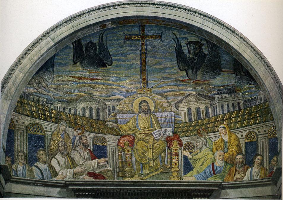 Late Antique and Early Christian Art Santa Sabina Interior