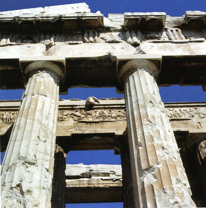 The name Parthenon derives from one of Athenas many epithets Athena Parthenos meaning Virgin Parthenon means house of Parthenos which was the name given in the 5th century BCE to the chamber inside the temple which housed the cult statue
