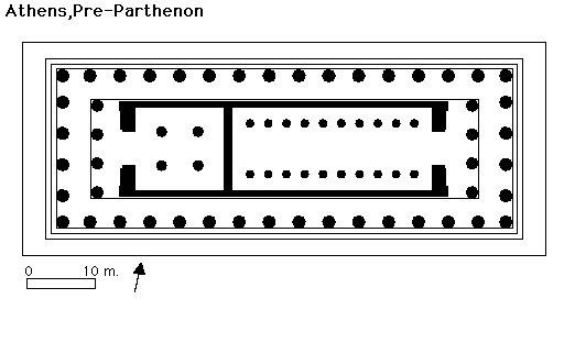 pre_parthenon_plan parthenon gallery of images
