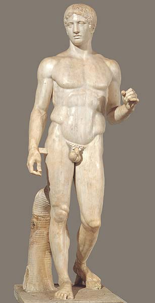 Image result for kouros, kritios boy, and polykleitos