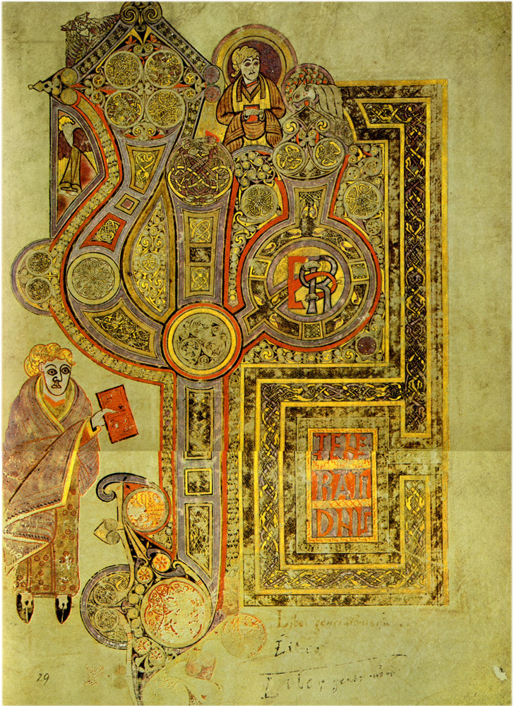 Chi Rho Page From The Book Of Kells Quot The Word Made Flesh Quot