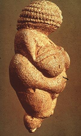 "The ""Venus of Willendorf"", c. 30000-25, 000 B.C., Paleolithic (see the"