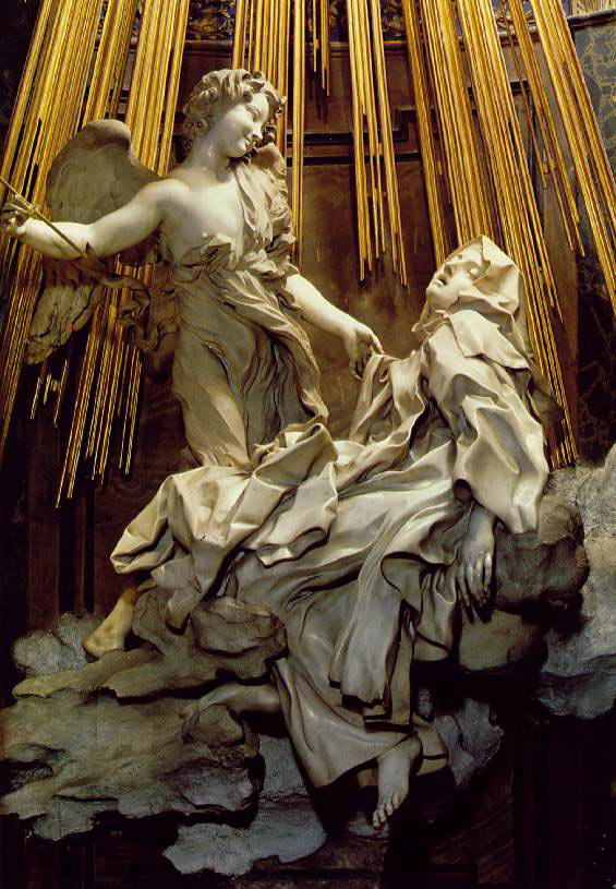 michelangelo vs bernini in david Instead of the serene constancy of, for example, michelangelo's david, bernini has chosen to capture a fraction of time in the course of a continuous movement.