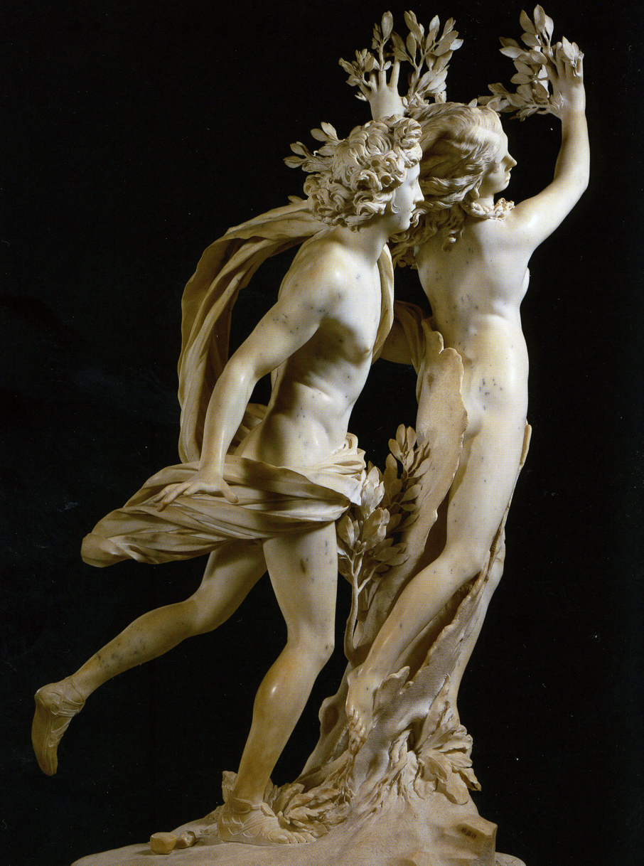 阿波罗与达芙妮雕塑作者