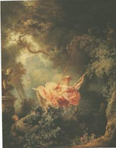 Why fragonard refused to paint the swing