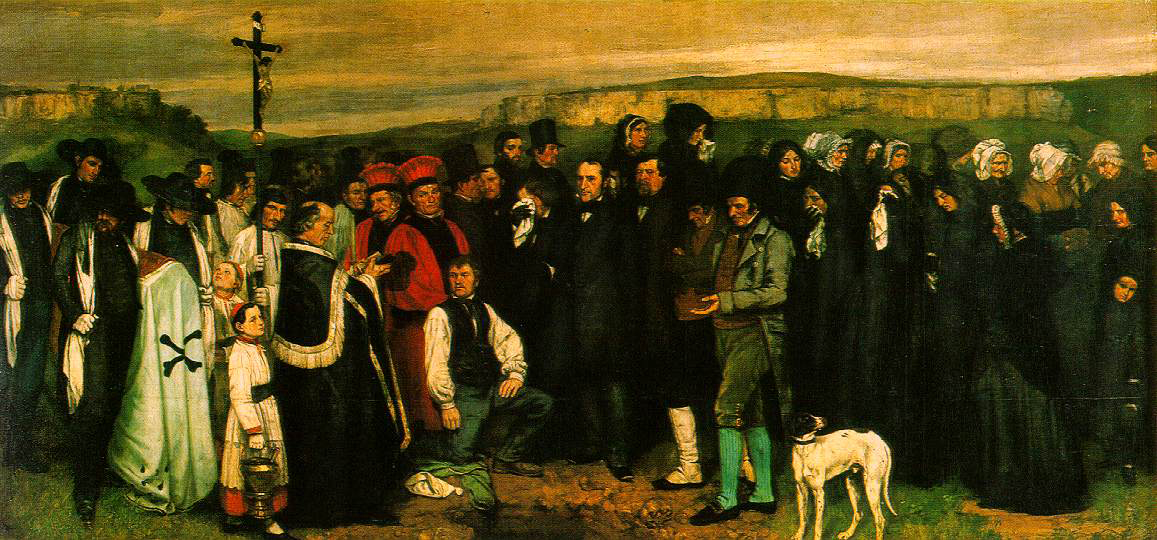 courbet and manet Manet's mania for things spanish continues in 1867, gustave courbet, upon  seeing manet's private exhibition in the shed next to his own, exclaimed, what a .