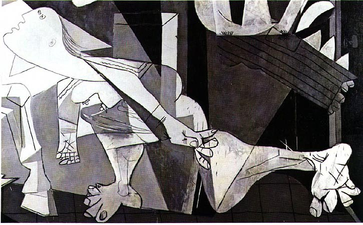 Truer than Life: an acting journal: Research: Guernica