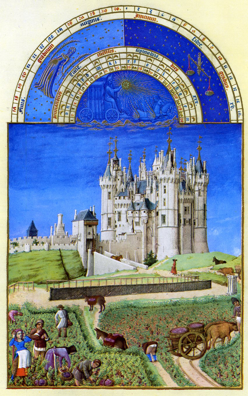 French Court Art The Limbourg Brothers