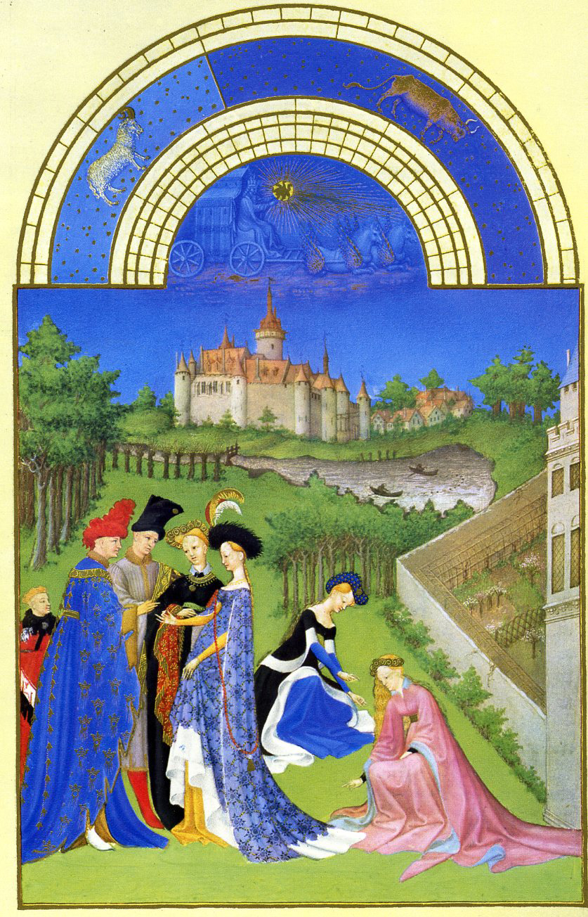 French court art the limbourg brothers - Palau de les heures ...