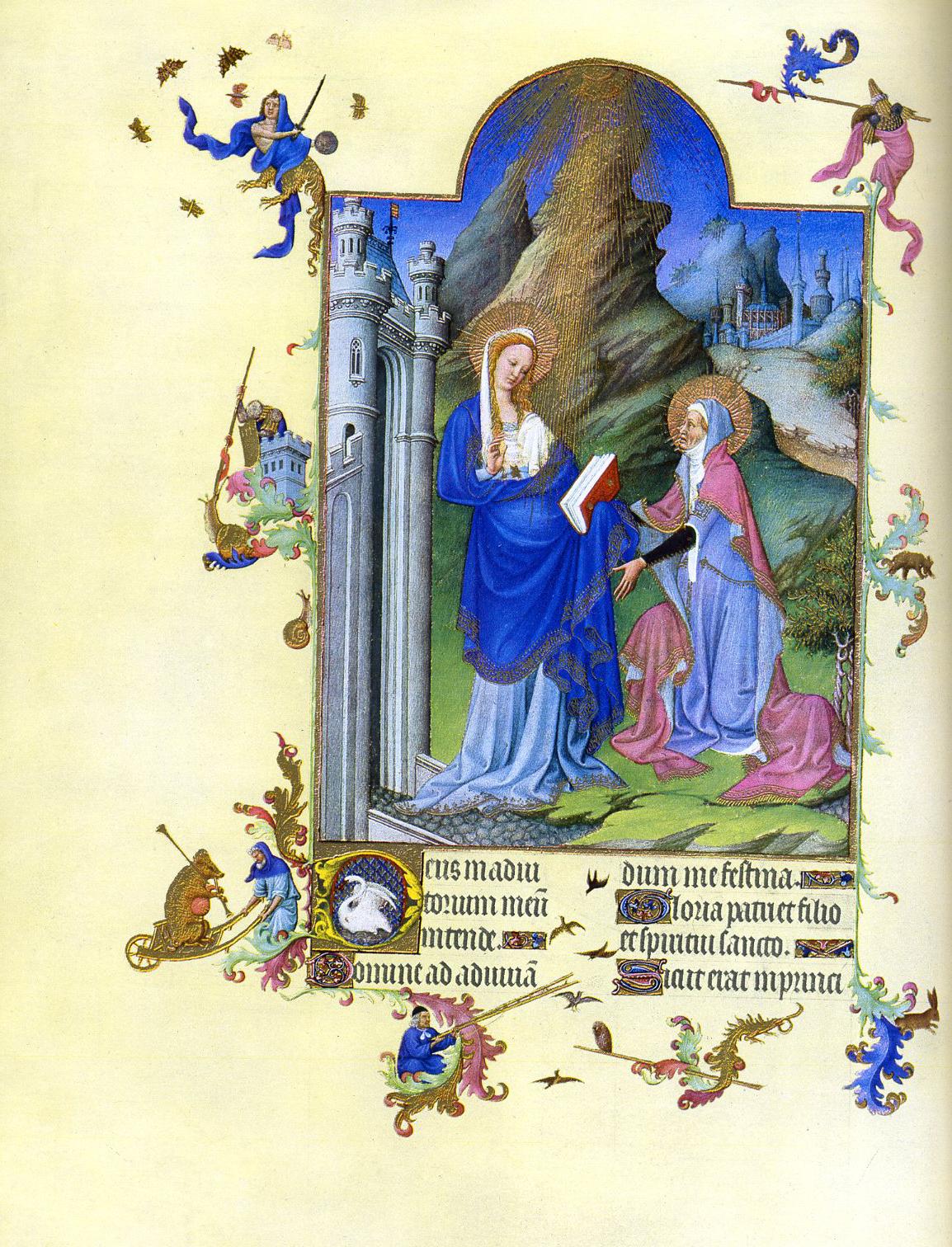 Les Tres Riches Heures Du Duc De Berry February