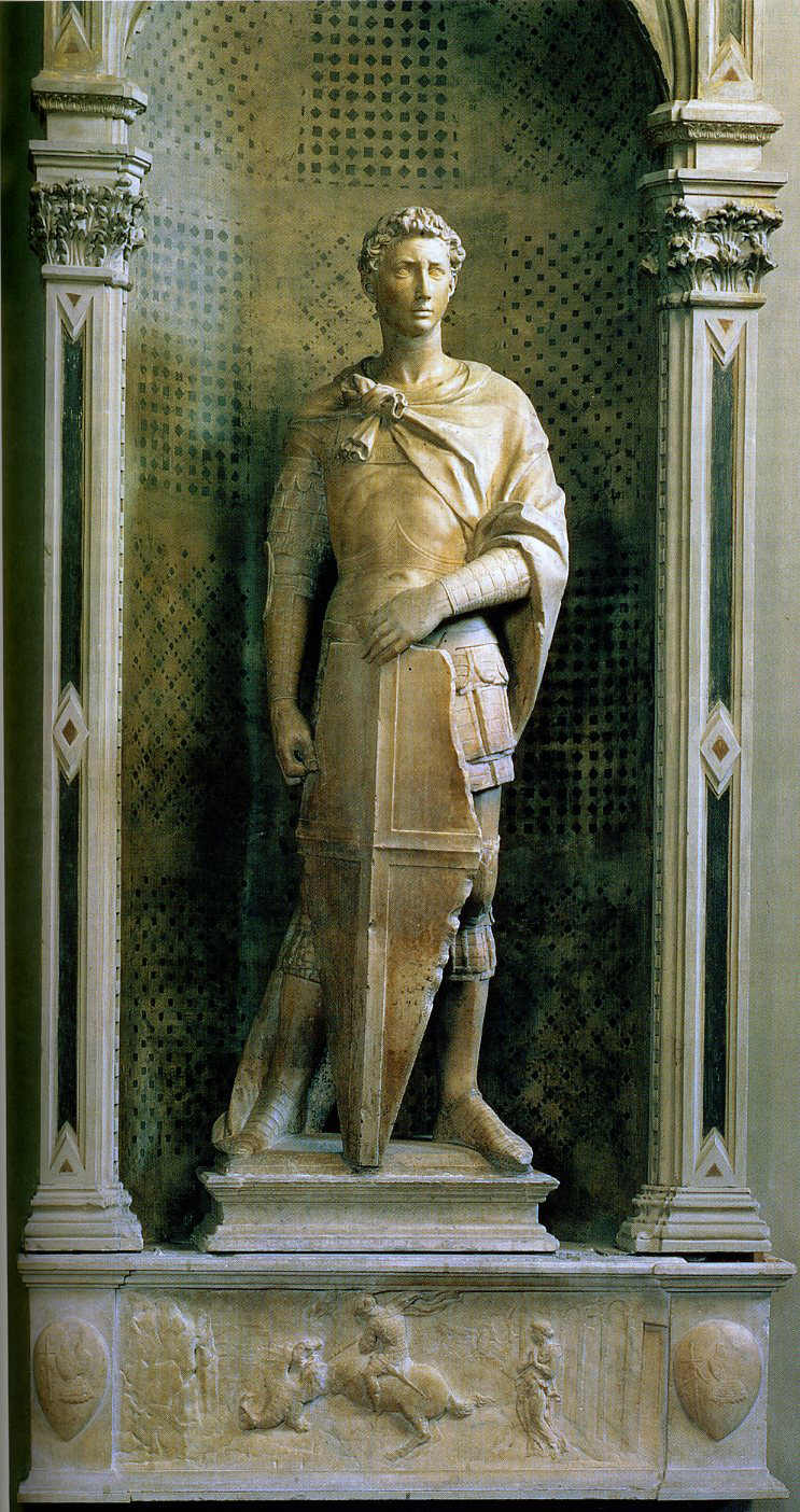 compare augustus and doryphoros Augustus of prima porta ( italian : the doryphoros's contrapposto stance, creating diagonals between tense and relaxed limbs this hairstyle also marks this statue out as augustus from comparison with his portrait on his coinage.