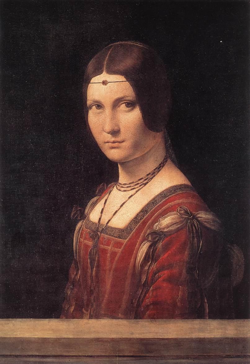 Mona Lisa and Her Sisters Da Vinci Paintings