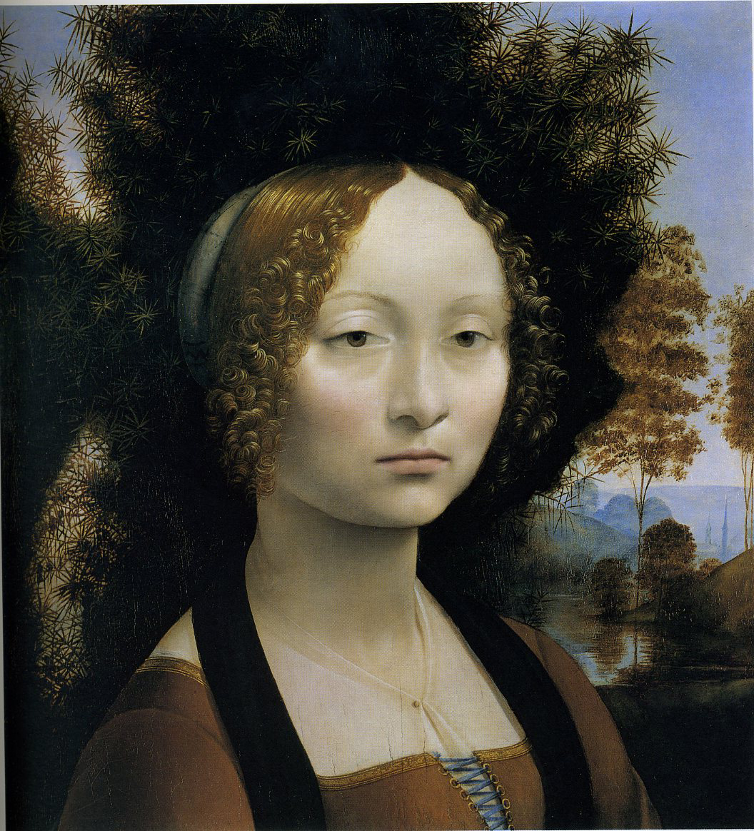 leonardo da vinci female portraits female nature