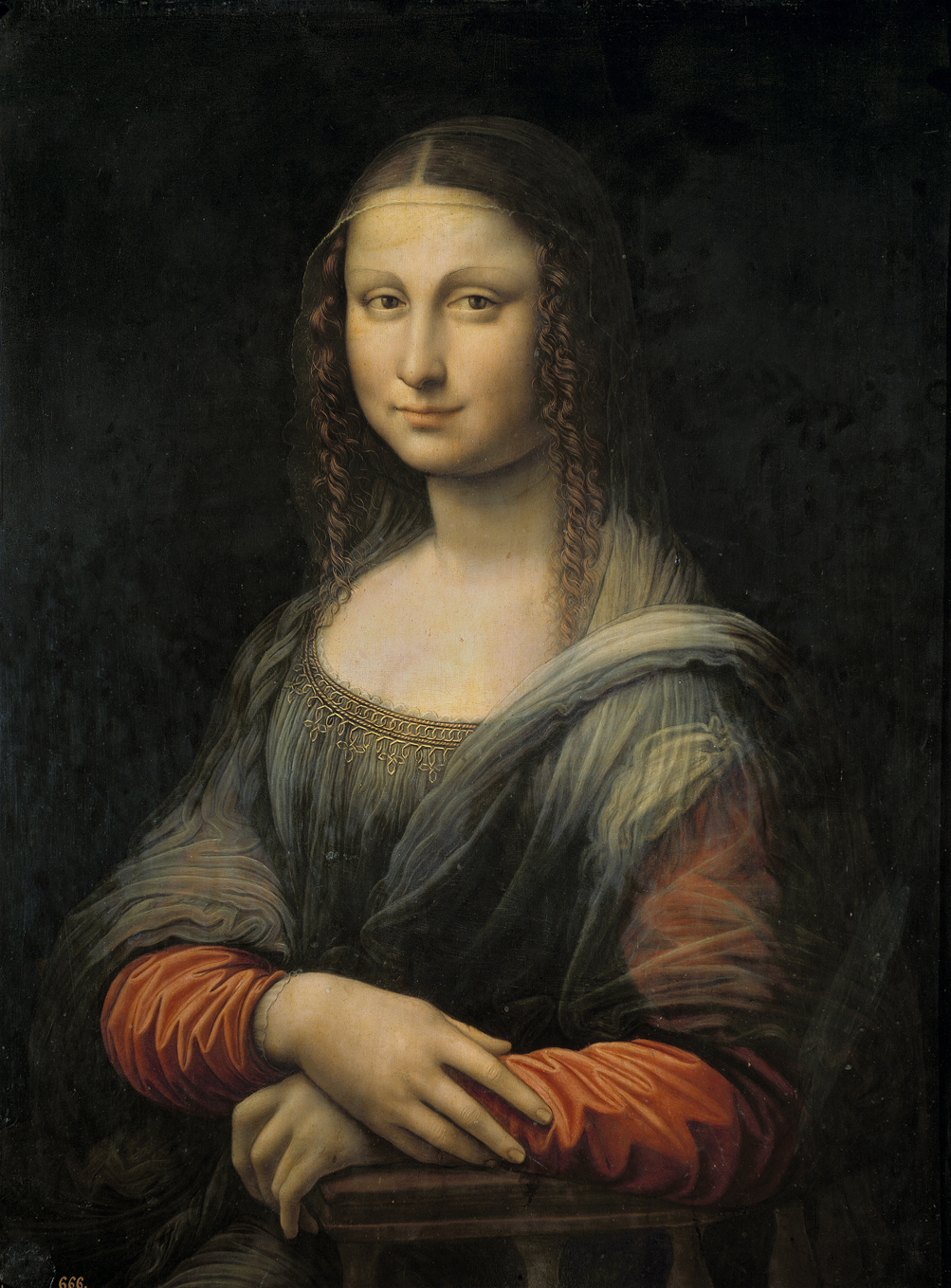 mona lisa Mona lisa is a famous painting of a sitting woman by leonardo da vinci mona lisa is named for lisa del giocondo, a member of the gherardini family of florence and tuscany, it aly and the wife of wealthy florentine silk.