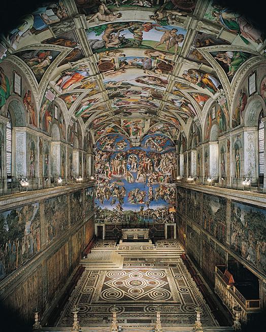Plan of the Sistine Chapel