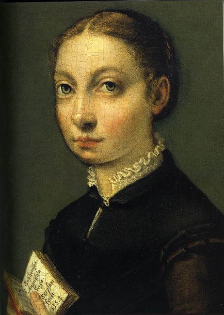 Black Lady Paints Herself White
