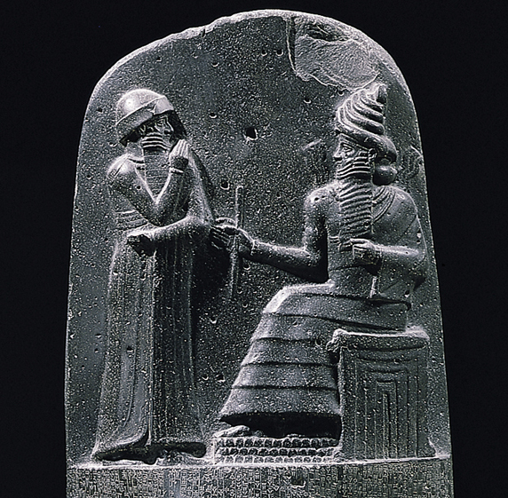 Stele with law code of Hammurabi  from Susa  Iran  c  1780 BCE Stele With Law Code Of Hammurabi