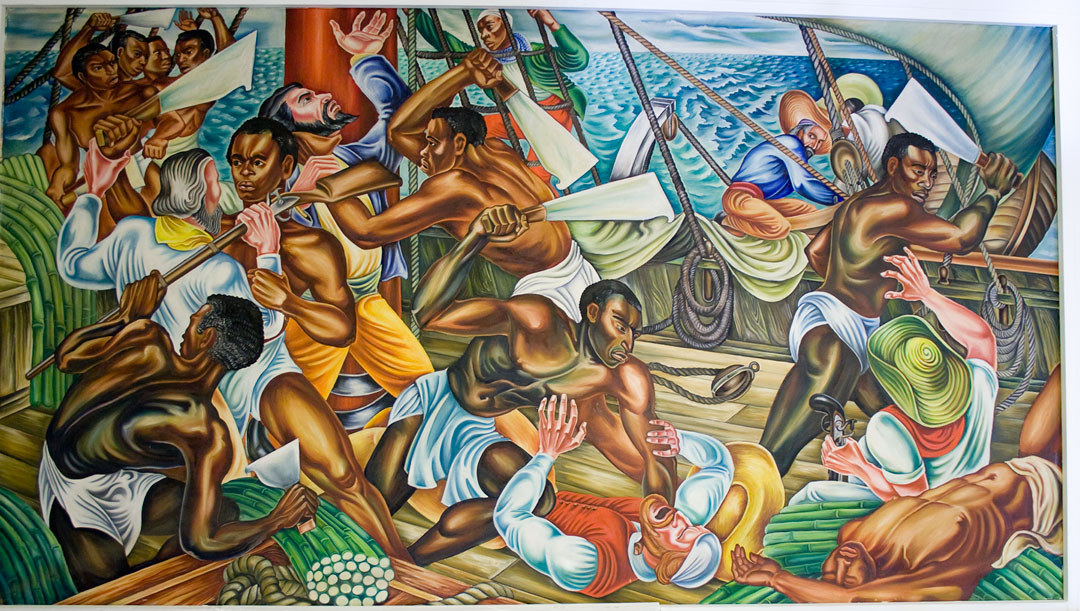 Hale woodruff for African american mural