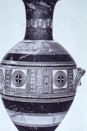 geometric vase development of geometric vase painting