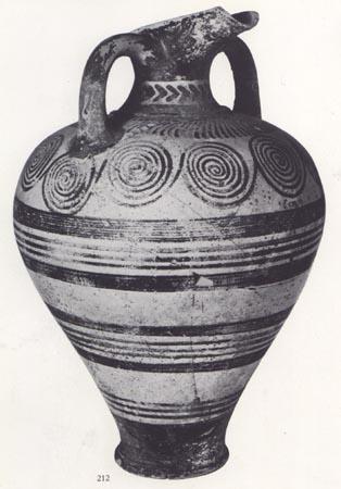 Development Of Geometric Vase Painting