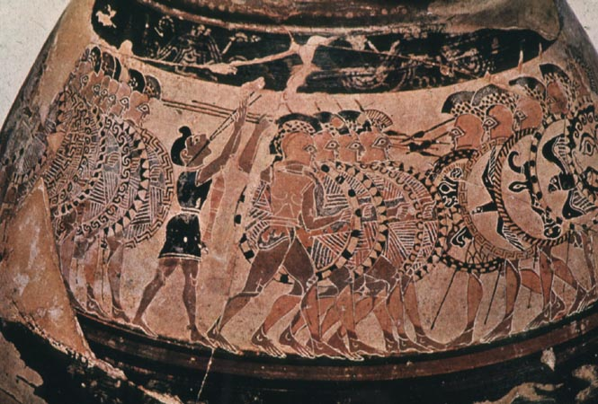 Orientalizing Vase Painting