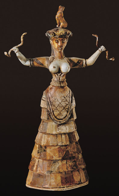 greek and r gods see chris witcombe s essay on the minoan snake goddess