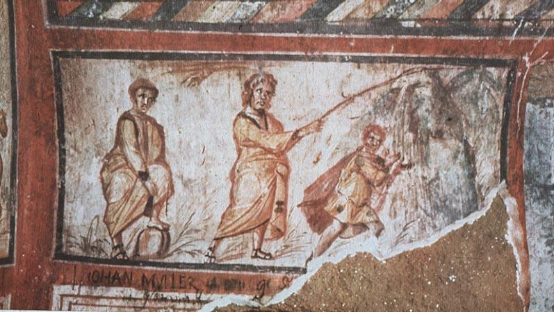 Early christian art for El mural de mosaicos