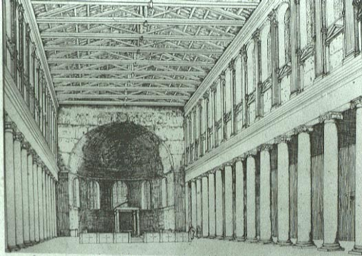 Santa Maria Maggiore Santa Sabina Interior