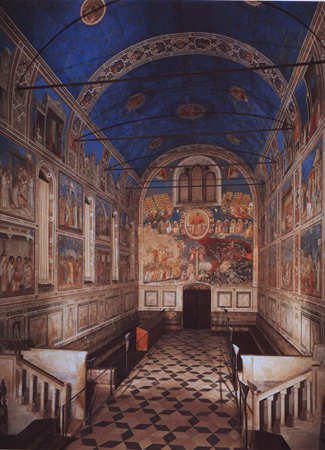 arena chapel lamentation
