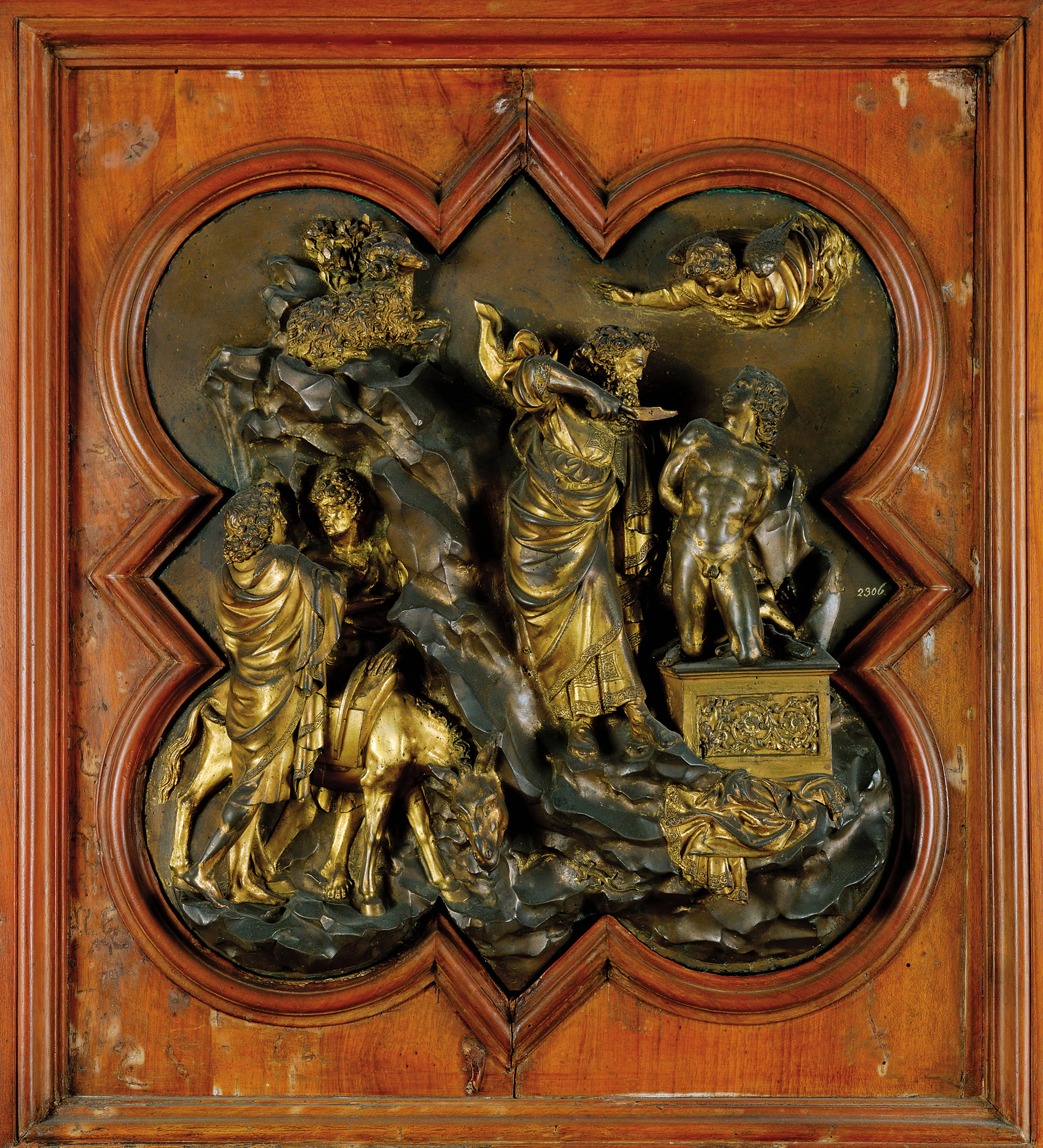 Ghiberti Sacrifice of Isaac 1401-3. & Baptistry Competition