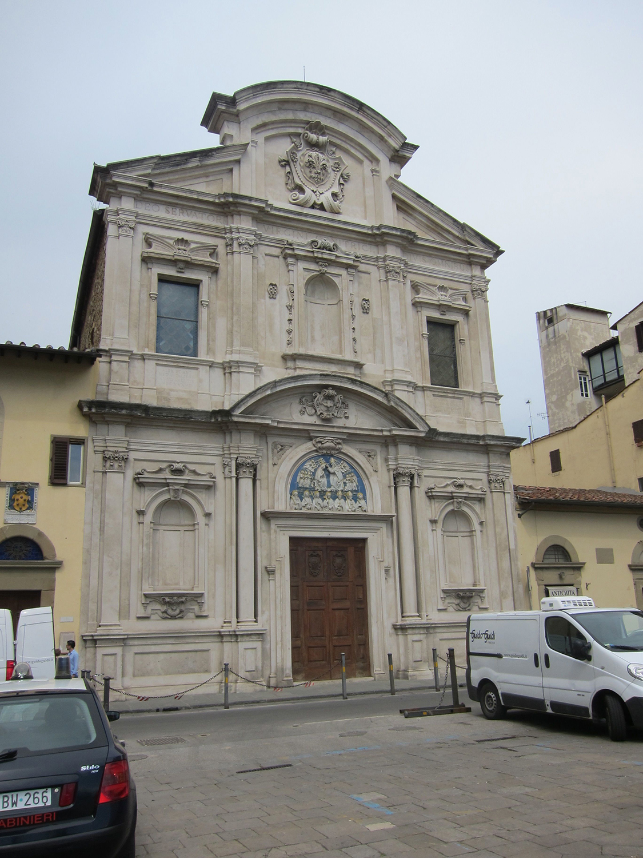 Ognissanti Church Rome j Church of Ognissanti Built