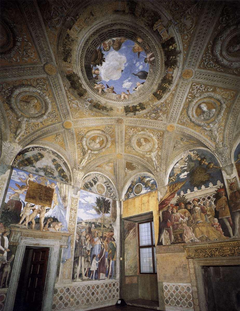 Mantegna for Palazzo ducale mantova camera degli sposi