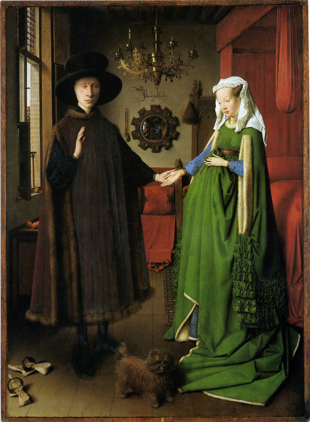jan van eycks arnolfini wedding portait