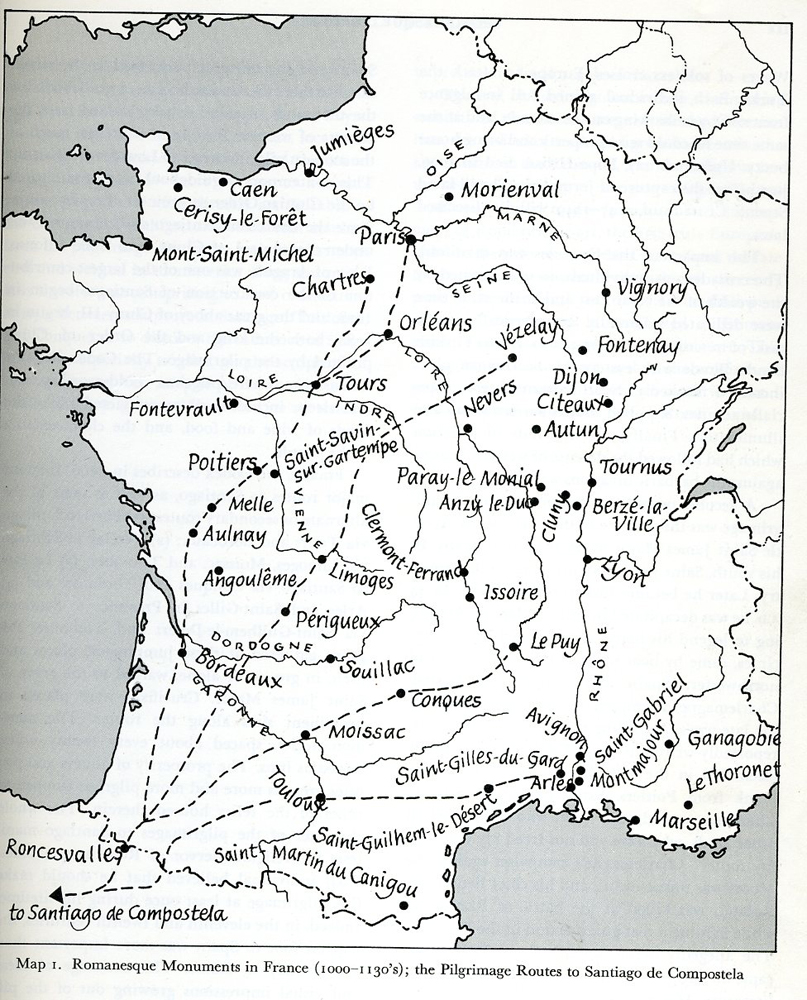 Cluny France Map.Romanesque Architecture