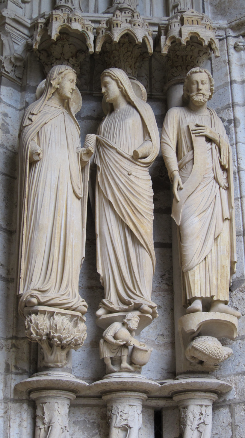 Compare well with Paris Notre Dame - Chartres Cathedral