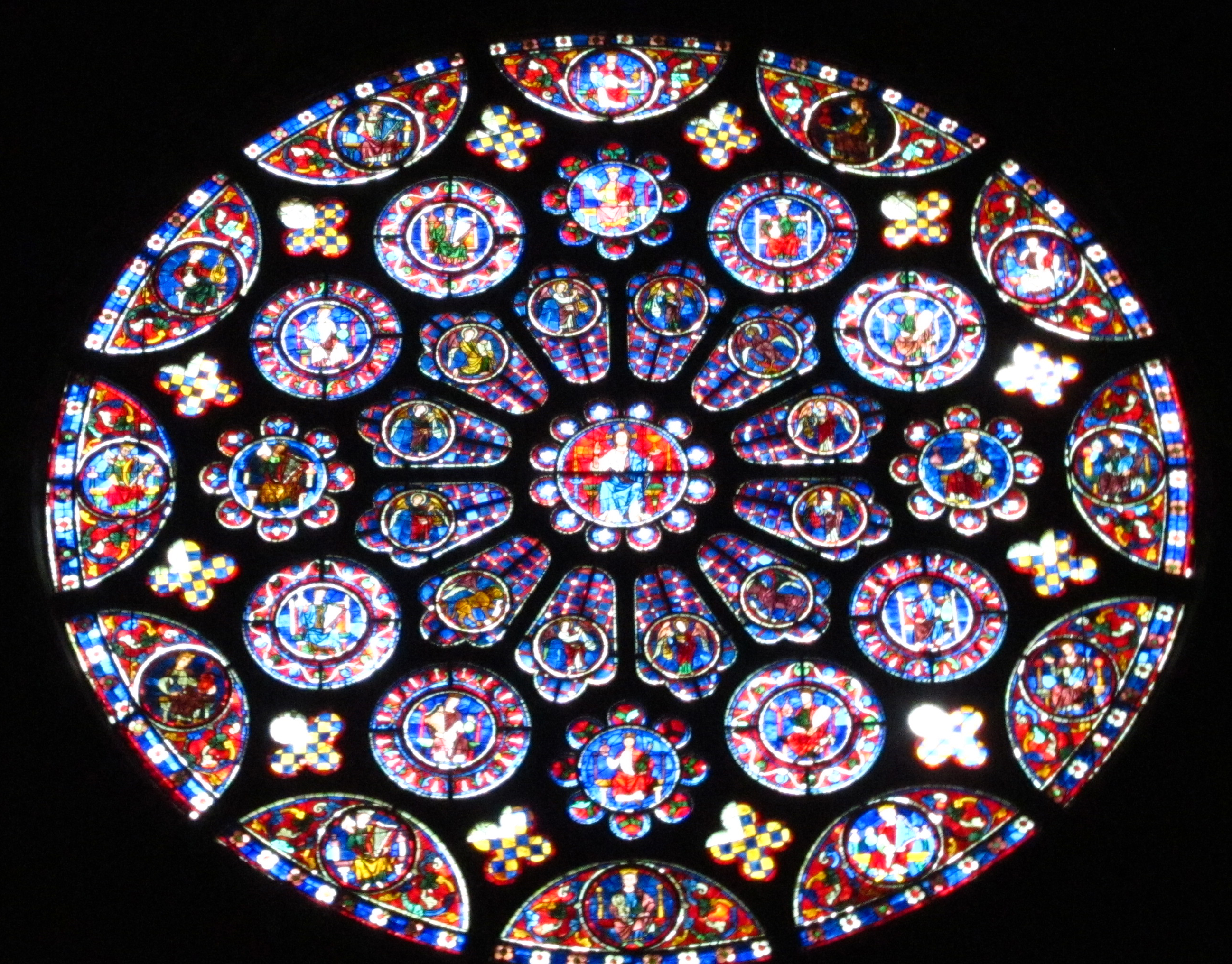 the stained glass chartres Notre-dame de chartres is a gothic cathedral in chartres, france the west facade was built in 1134–1145 and the rest was built in 1194–1260 contents 1 photos - exterior  chrome lithography of the stained glass window: the life of jesus, paris, imprimerie impériale, 1867 more stained glass windows of cathédrale notre-dame de chartres.