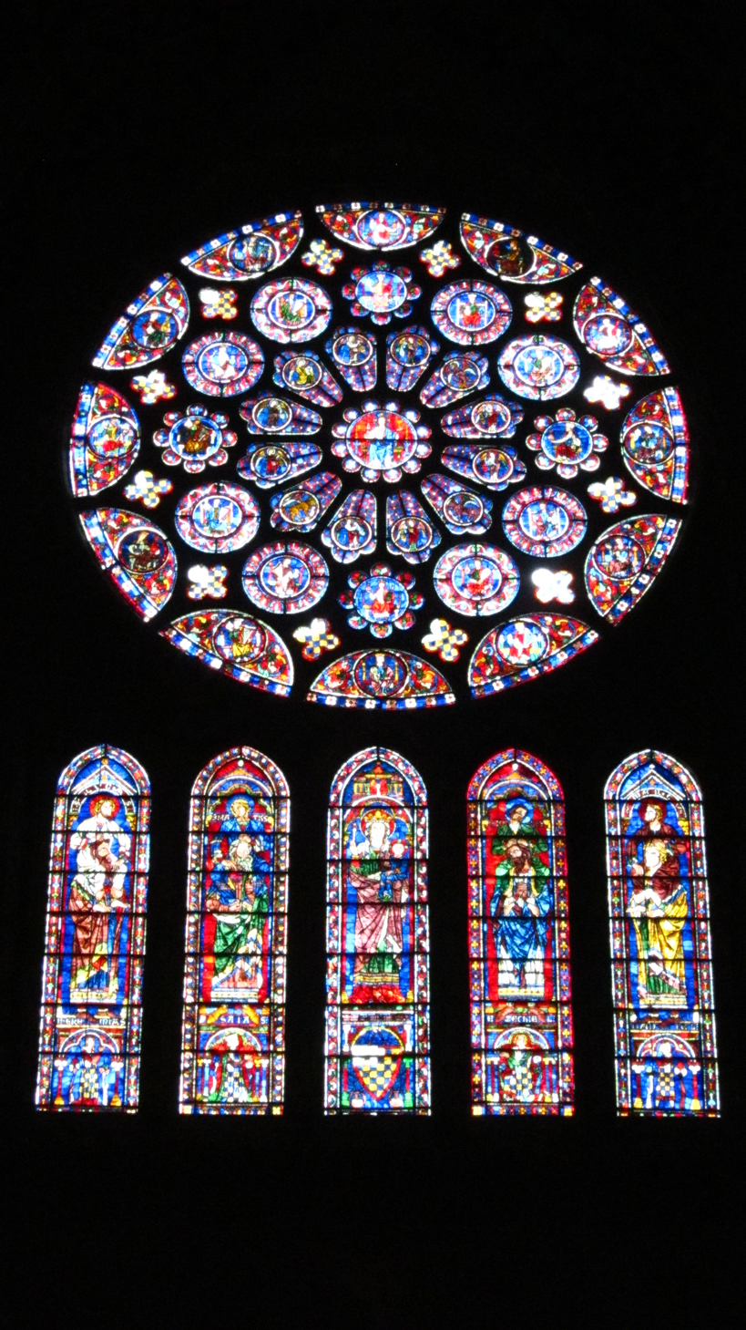 This is not intended as a comprehensive review of the stained glass of ...