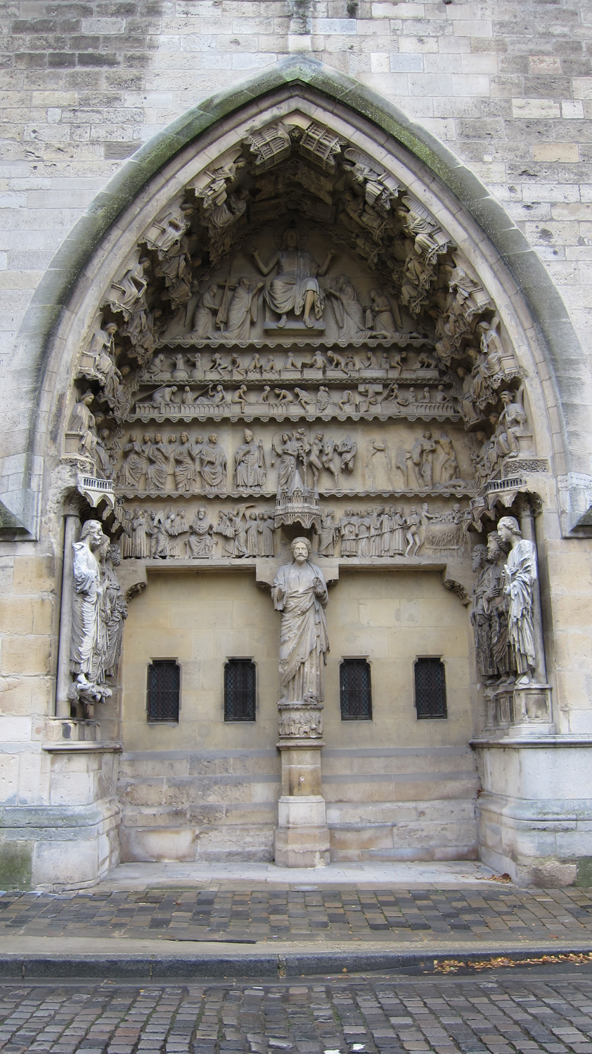 Reims Cathedral Sculpture Reims Cathedral North