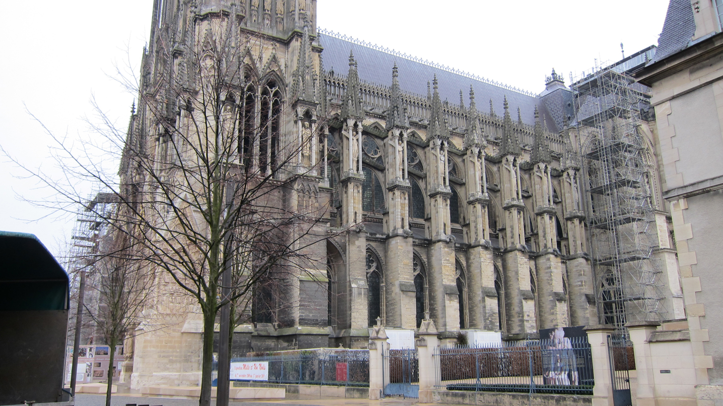 What Is A Side By Side >> Reims Cathedral