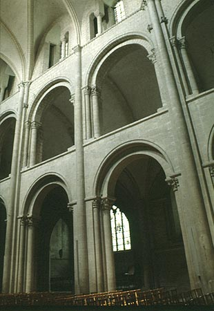 Nave Elevation Of St Eienne At Caen