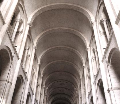 View Of The Nave St Sernin Toulouse Barrel Vaults