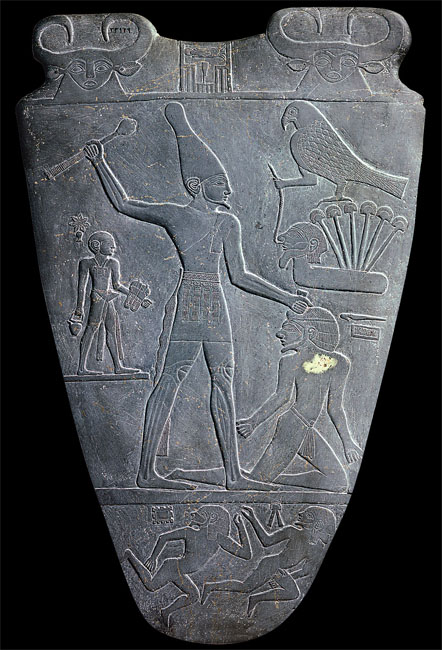the main characteristics of king narmers palette Victorious over delta peoles he wears the red crown of lower egypt many discussions have been made about two main arguments concerning narmer palette's actual meaning: a sort of chronicle of egypt unification, or of a mere retaliation and rebels punishment the symbolic representation of the king power the origin of the defeated enemies.