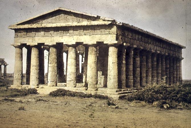 Temple Of Hera II Paestum C