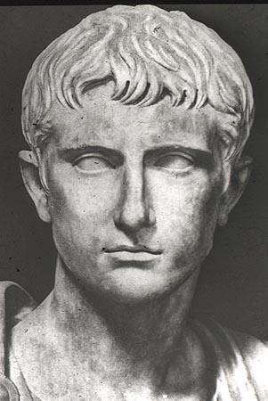 son of Julius Caesar  Octavius Julius Caesar