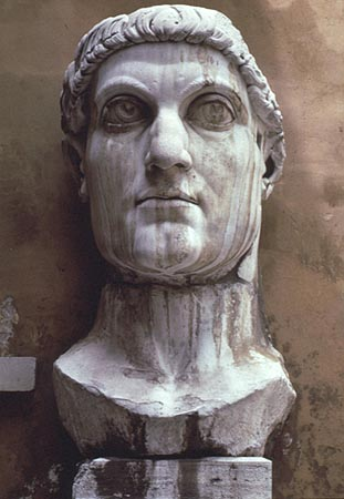 the historic figure of constantine the great Constantine the great ( latin : flavius valerius aurelius constantinus augustus  greek : κωνσταντῖνος ὁ μέγας  27 february c 272 ad – 22 may 337 ad), also known as constantine i or saint constantine (in the orthodox church as saint constantine the great, equal-to-the-apostles ), was a roman emperor from 306 to 337 ad.