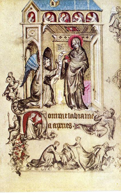 Virgin Of Jeanne Devreux Hours of Jeanne d'&#20...