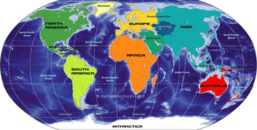 world map document